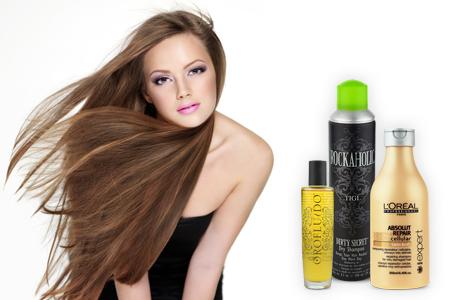 cabello largo sano hermoso