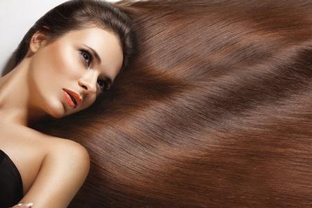 arreglar el cabello antes de irse a dormir