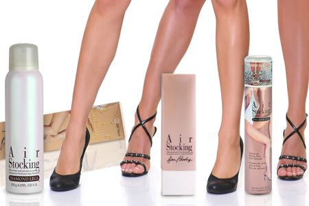 ¡Descubra el truco para lucir unas piernas bonitas con los productos AirStocking!