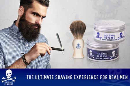 La Venganza Bluebeards: ¡La verdadera revolución en la cosmética de afeitar!