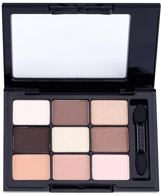 Paleta de sombras de ojos con aplicador NYX Cosmetics Love in Paris