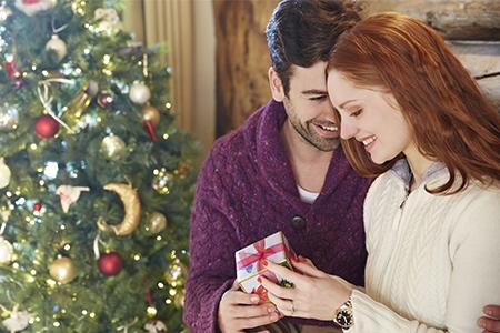Por primera vez bajo el árbol de Navidad