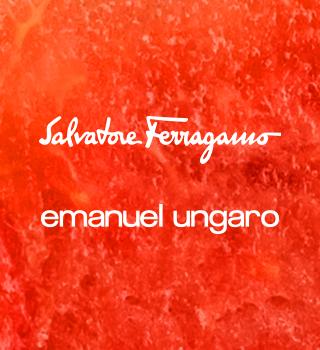 Salvatore Ferragamo y Emanuel Ungaro a partir de 40 €