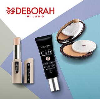 Maquillajes y polvos Deborah Milano