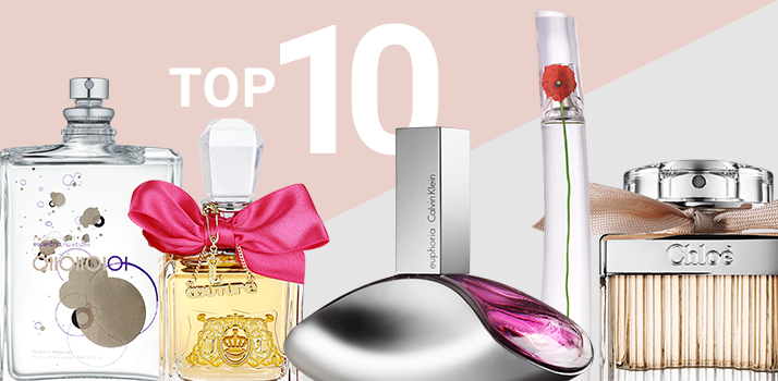 Top 10 perfumes mujer