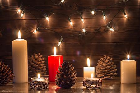 La magia de las velas aromáticas